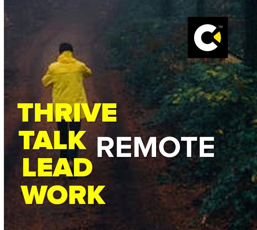 Remote working playbook