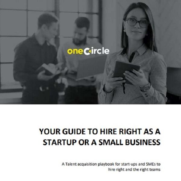 Start-up hiring, Virtual freelance HR consultant, One Circle, HR, freelance HR consultant, Independent Consultant, values, vision, tech start-up